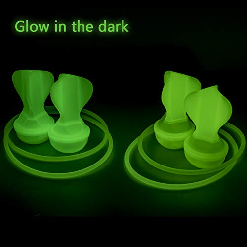 ROPODA Lawn Darts Game-Glow in The Dark Game Set-Outdoor Family Game for Kids and Adults,Perfect for Backyard, Lawn, Beach and More (Glow In The Dark Games For Kids)