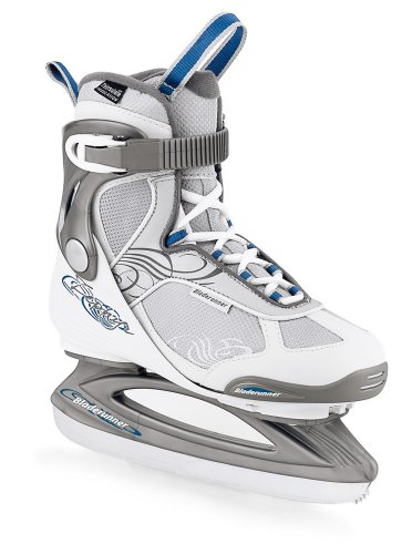 Womens Recreational Roller Skates (Bladerunner Zephyr Women's Recreational Ice Skate (White/Silver, US 7))