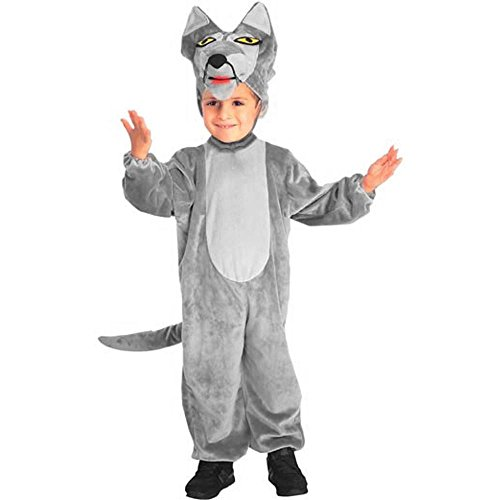 Siberian Husky Costume Ideas (Child's Big Bad Wolf Halloween Costume (Medium 8-10))