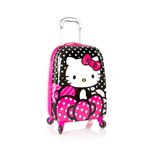 heys-hello-kitty-20-carry-on-spinner-upright-luggage-suitcase