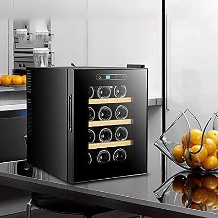 Hmvlw Vinoteca refrigerada Temperatura constante electrónica Almacenamiento de vino Enfriador de vino Temperatura constante Gabinete de vino Hogar refrigerador