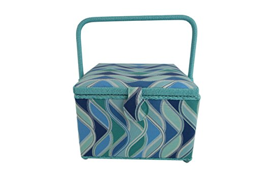 blue sewing basket - 9