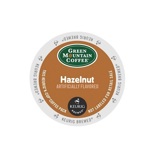 Hazelnut K-cups (Green Mountain Coffee Hazelnut,  K-Cup Portion Pack for Keurig K-Cup Brewers,)