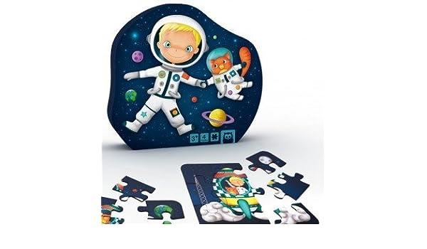 EUREKAKIDS Eureka Kids- Puzzle Evolutivo Astronauta 4 en 1 (68215052842): Amazon.es: Juguetes y juegos