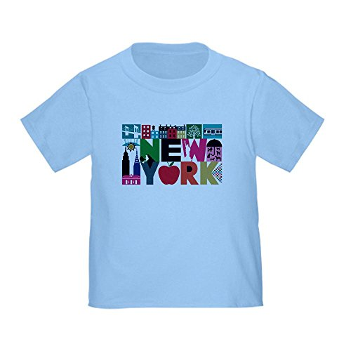 CafePress - Unique New York - Block by Block T-Shirt - Cute Toddler T-Shirt, 100% Cotton (Pigeon Childrens Pajamas)