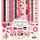 Echo Park Paper Love Story Scrapbook Collection Kit