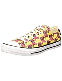 Converse Men's Chuck Taylor All Star Andy Warhol, YELLOW/RED/WHITE