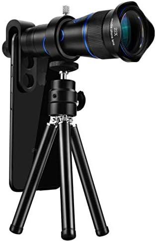 LFFCC Telescopio monocular, BAK4 Prism FMC Alcance de Lente de Alta Potencia con Adaptador de Smartphone Soporte de trípode para la Fauna como observación de Aves, Viajes, Deportes, etc.: Amazon.es: Deportes y