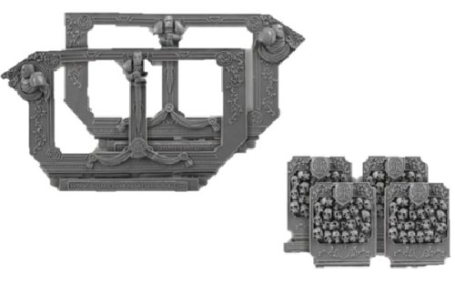 Scibor MM 28mm miniature Conversion Parts: Templar set #1 (Black Templar Space Marines)