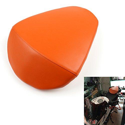 Artudatech Motorbike Rear Passenger Seat, Motorcycle Passenger Rear Seat Leather Pillon Seat Cushion Replacement For K-T-M 390 DUKE: