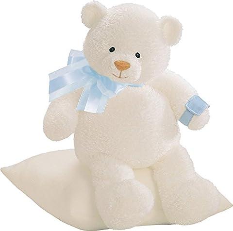 Gund Plush Get Well Teddy Bear Toy Blue - Gund White Teddy Bear