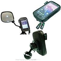 Waterproof LG Google Nexus 5 Scooter Mirror Mount (sku 18435)