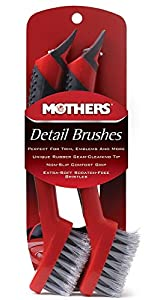Mothers Detail Brush Set, 2 Pack