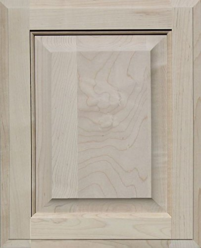 - Unfinished Maple Cabinet Door, Square with Raised Panel by Kendor, 16H x 13W