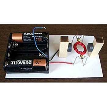 Simple electric motor kit 15 diy science for Motor kits for kids