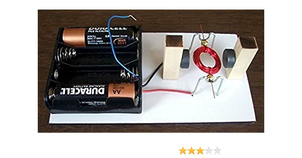 Simple Electric Motor Kit #15 - DIY Science Projects & Kids Education