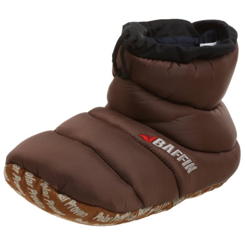 Baffin Unisex Cush Insulated Slipper Booty,Espresso,Medium