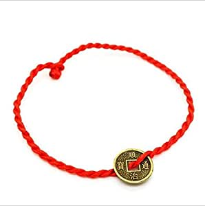 string bracelet right wrist luck kabbalah string of faith rope 8701