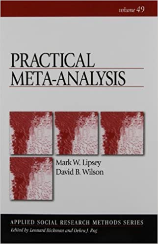 Book Practical Meta-Analysis (Applied Social Research Methods) by Lipsey, Mark W., Wilson, David(August 18, 2000)