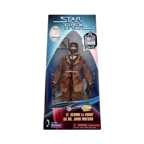 Paramount Pictures Star Trek Lt. Geordi La Forge As Dr. John Watson Target Exclusive Star Fleet Command 9 inch Figure