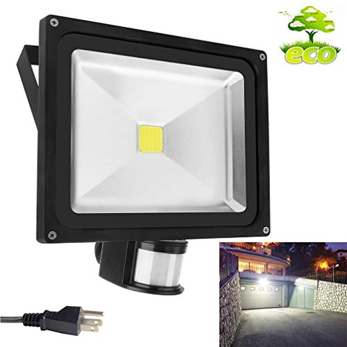 Outdoor Security Light With Outlet in US - 8