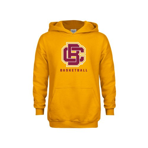 Bethune Cookman Youth Gold Fleece Hoodie Basketball