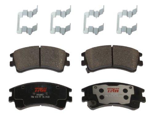 TRW TPC0957 Premium Ceramic Front Disc Brake Pad Set