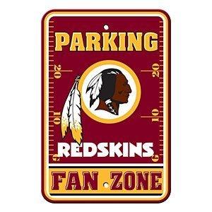 (Fremont Die NFL Washington Redskins Plastic Parking Sign)