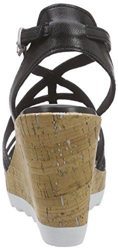 Tozzi 28721 Premio Negro Sandalias Marco Mujer 0dpxpw