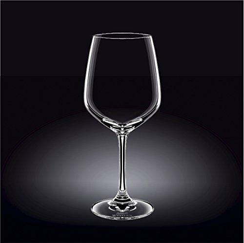 Wilmax 888020 630 ml Wine Glass Set of 644; Pack of 4