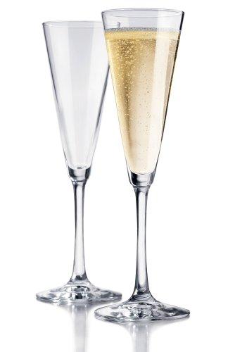 Libbey Vina Trumpet Champagne Flute, Set of 6