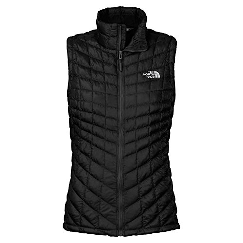 The North Face Sleeveless Vest (The North Face Women's ThermoBall Vest Tnf Black 1 (Prior Season) Outerwear )