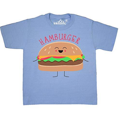 inktastic - Hamburger Costume Youth T-Shirt Youth Small (6-8) Light Blue 31d0b]()