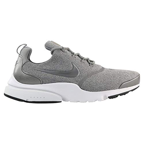 Running 910570 metallic Se Grau dust Nike Fly Sneakers Presto black Donne Turnschuhe white Pewter 6BnaxRI