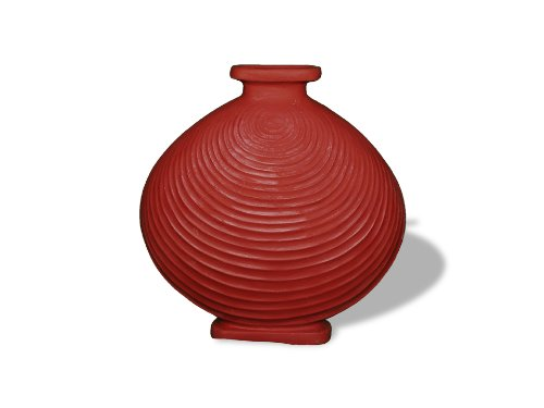 Amedeo Design ResinStone 2509-63T Lalique Urn, 5 by 18 by 18-Inch, Terra ()