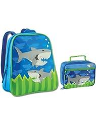 Stephen Joseph Shark Backpack and Lunch Box Combo - Boys Backpacks