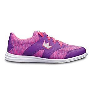 Brunswick Ladies Karma Sport Bowling Shoes- Purple/Pink