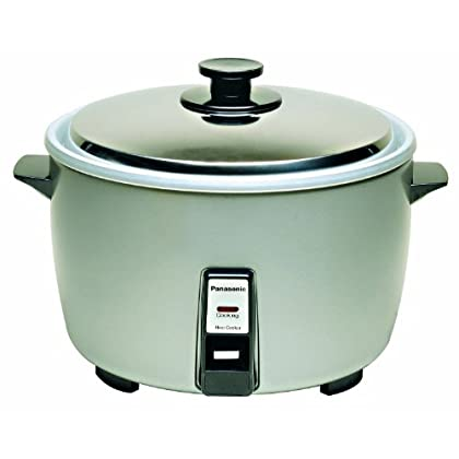 Image of Panasonic SR-42HZP 23-cup (Uncooked) Commercial Rice Cooker, 'NSF' Approved, Stainless Steel Lid Home and Kitchen