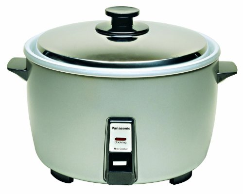 Panasonic SR-42HZP 23-cup (Uncooked) Commercial Rice Cooker, ''NSF'' Approved, Stainless Steel Lid by Panasonic