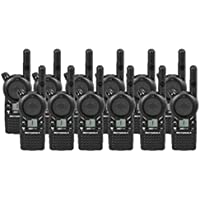 12 Pack of Motorola CLS1110 Two-way Radios with Programming Video