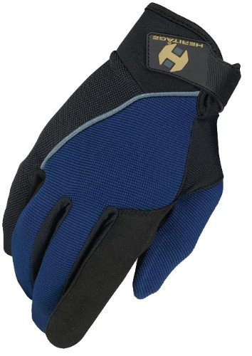 Heritage Competition Gloves, Size 11, Navy/Black - Heritage Competition Gloves