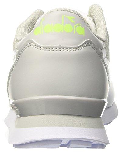 mm Sneaker Bianco Unisex Collo Adulto Bianco Grigio Roccia Camaro a Basso Diadora 5B6gwg