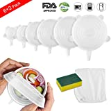 Silicone Stretch Lids Set, Oumers Kitchen Seal Food Saver Cover | Various Size