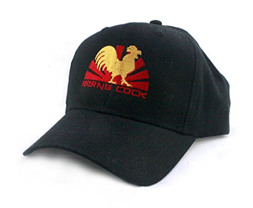 RISING COCK Embroidered Unisex Baseball