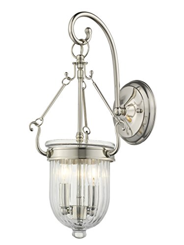 Coventry Wall Small (Livex Lighting 50511-35 Coventry 2-Light Wall Sconce, Polished Nickel)