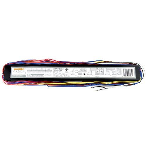 12 T5 6 Lamp Fluorescent High Bay Light Fixtures: Sunlite 40175-SU SB454HOMV 4 Lamp F54 T5 High Output
