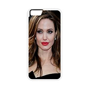 Celebrities Classy Angelina Jolie iPhone 6 4.7 Inch Cell Phone Case White Pretty Present zhm004_5953294
