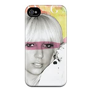 New Snap-on Wade-cases Skin Case Cover Compatible With Iphone 4/4s- Lady Gaga