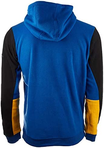 Columbia Lodge Fleece Pullover Hoodie - Men's (Azul, Black, Small)