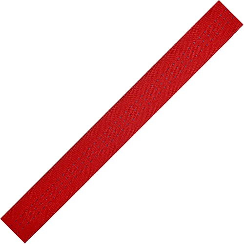 """BlueWater Ropes 1"""" Climb-Spec Webbing - 100 YDS (Red)"""